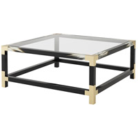 Cutting Edge 44 inch Black Lacquer Table Home Decor, Squared