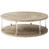 Theodore Alexander 5102-082 Lucidity 52 X 52 inch Citadel Cocktail Table