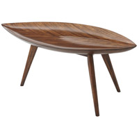 Pacific Leaf II 36 inch Warm Walnut Cocktail Table Home Decor