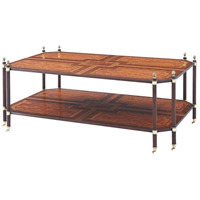 Regency Tiers 56 inch Rosewood Veneer Console Table