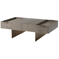 Bloc 52 inch Basalt Cocktail Table Home Decor