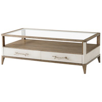 Theodore Alexander 5105-412CHC Brandon II 54 X 28 inch Cerused Mangrove Cocktail Table
