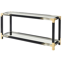 Cutting Edge 65 inch Black Lacquer Table Home Decor