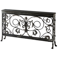 A Highly Wrought 72 X 12 inch Console Table