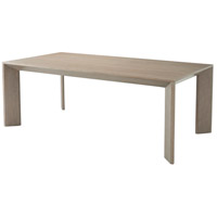 Theodore Alexander 5402-022 Decoto 84 X 42 inch Cerused Oak Dining Table