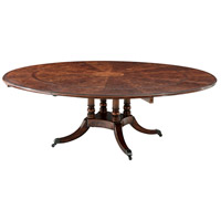 Theodore Alexander 5405-072 Brook Street Supper 89 X 89 inch Dining Table