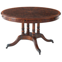 Theodore Alexander 5405-082 A Toast to the Regency 74 X 74 inch Dining Table