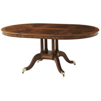 Theodore Alexander 5405-221 Additional Guests 72 X 48 inch Dining Table