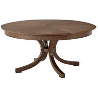 Theodore Alexander 5405-300 Avalon 78 X 30 inch Hewn Hazel Walnut Dining Table, Extending