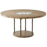Wynwood 60 X 60 inch Cerused Mangrove Dining Table, Tree Branch Legs