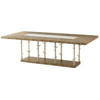 Theodore Alexander 5405-322CHC Wynwood II 96 X 48 inch Cerused Mangrove Dining Table, Rectangular thumb