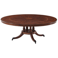 Theodore Alexander 5405-801 Regents Feast 80 X 80 inch Dining Table