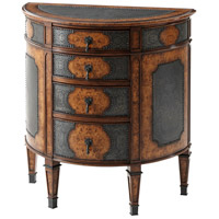 Theodore Alexander 6005-076 Intricate Bowfront Chest of Drawers