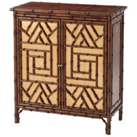 The Argent Faux Bamboo Side Cabinet