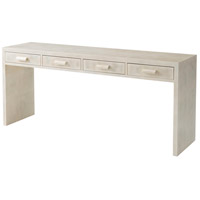 Theodore Alexander 6102-184 Irwindale 70 X 18 inch Hand Painted Faux Parchment Console Desk