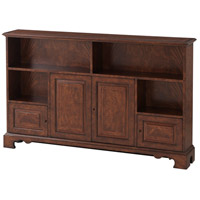 Theodore Alexander 6105-474 The Lower Library Cerejeira and Mahogany Bookcase