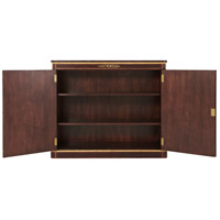 Basile Granadillo Veneer Side Cabinet