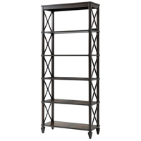 Sumner 84 X 36 X 15 inch Oak with Acacia and Mahogany Etagere