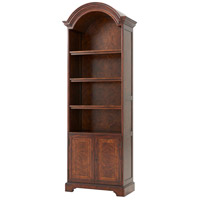 The Edwardian Original Cerejeira and Mahogany Bookcase