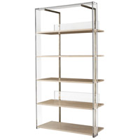 Long Division II 83 X 43 X 19 inch Acrylic Frame Etagere