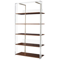 Long Division III 83 X 43 X 19 inch Acrylic Frame Etagere