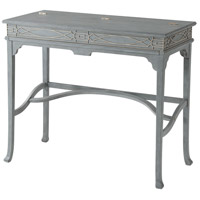 Morning Room Campaign 40 inch Blue/White Painted Desk