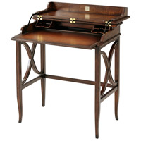 Brooksby 30 X 29 inch Cerejeira and Mahogany Campaign Desk