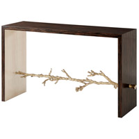 Spring 52 X 18 inch Simulated Ebony Veneer Console Table