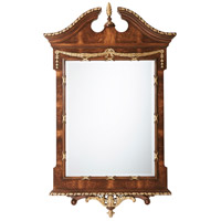 Theodore Alexander AL31038 The India Silk 62 X 38 inch Wall Mirror