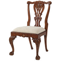 Theodore Alexander AL40077.1AFJ Crested Dining Chair