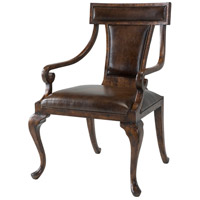 Queen Annes Victory Reclaimed Oak Veneer Armchair Home Decor