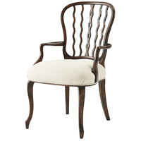 Victory Seddon Antique Mahogany Armchair Home Decor