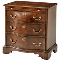 Theodore Alexander AL60030 The India Silk Chest of Drawers, Bedside