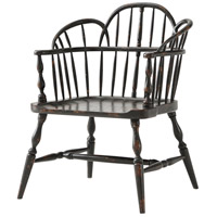 Rustic Hickory Bench Chair