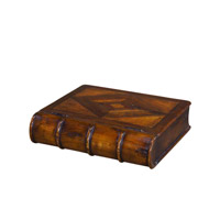 Castle Bromwich 12 X 10 inch Medium Brown Decorative Box