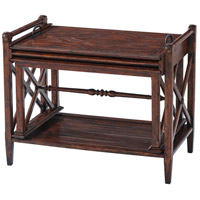 Theodore Alexander CB50007 A Rustic Ideal 29 X 24 inch Nest of Tables