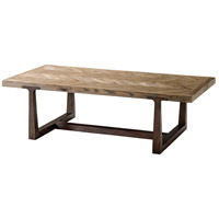 Theodore Alexander CB51034.C062 Stafford 60 X 30 inch Echo Oak Cocktail Table