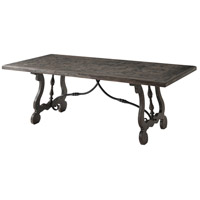 Theodore Alexander CB54006.5ABF The Country Kitchen 82 X 30 inch Antique Wood Dining Table