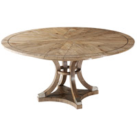 Devereaux 64 X 64 inch Echo Oak Extending Dining Table, Jupe