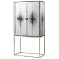 Ayr Smoky Mirror Panel Cocktail Cabinet