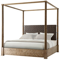 Theodore Alexander CB83004.C062 Weston Echo Oak Four Poster Bed, US King photo thumbnail