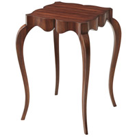 Theodore Alexander KENO5002 The Tall Fine Point II 26 X 19 inch Ofram veneer Accent Table