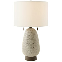 Tahoe Lamp 28 inch Spruce Shagreen Table Lamp Portable Light