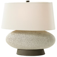Shasta 15 inch Spruce Shagreen Table Lamp Portable Light