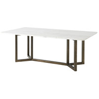 Theodore Alexander MB54003 Hermosa 84 X 30 inch Foundry Dining Table