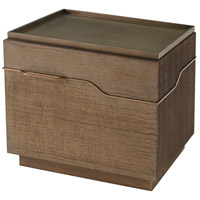 Mesa 30 inch Bronze Nightstand Home Decor, Left