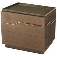 Mesa 30 inch Bronze Nightstand Home Decor, Right