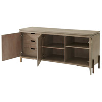 Theodore Alexander MB61002 Drift Truffle/Greystone Lacquer Cabinet