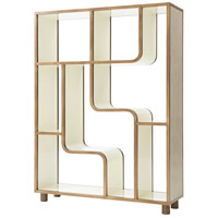 Shift 80 X 60 inch Quarter Oak Veneer Etagere