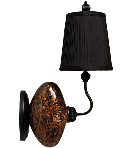 Black Glass Wall Sconces